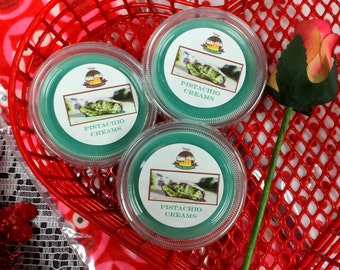 Pistachio Creams Melting Tart