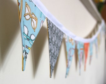 Bunting in Stationary Prints