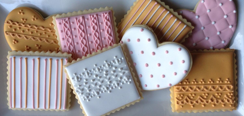 Vintage Lace Sugar Cookies