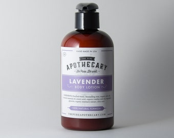 Lavender Essential Oil Body Lotion