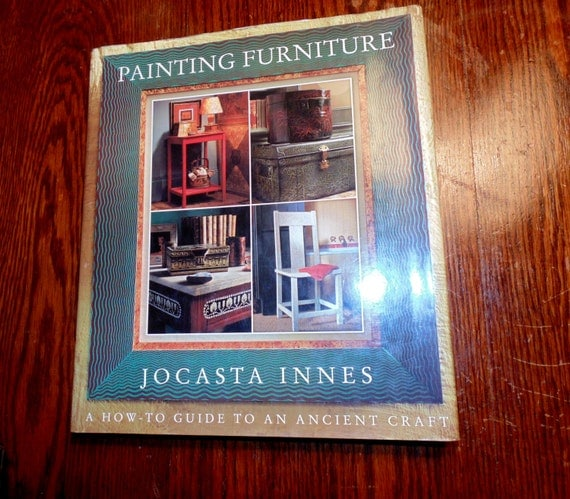 Home decorating book painting furniture by jocasta innes vtg Home decor 1990s