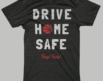 Chicago Basketball T-Shirt Drive Home Safe, Beep Beep!