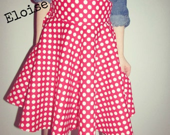 SIZE 3t. The Eloise Swing Skirt by Daydream Believers Valentines Edition.