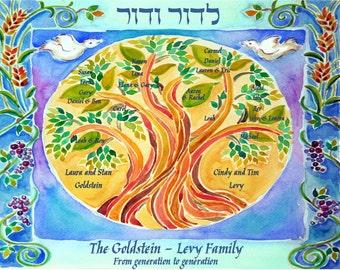 "Shop ""custom family tree"" in Spirituality & Religion"