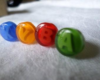 Xbox Stud Earrings (Set of 4)