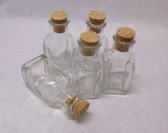 SALE Glass Small Bottles Jars bulk