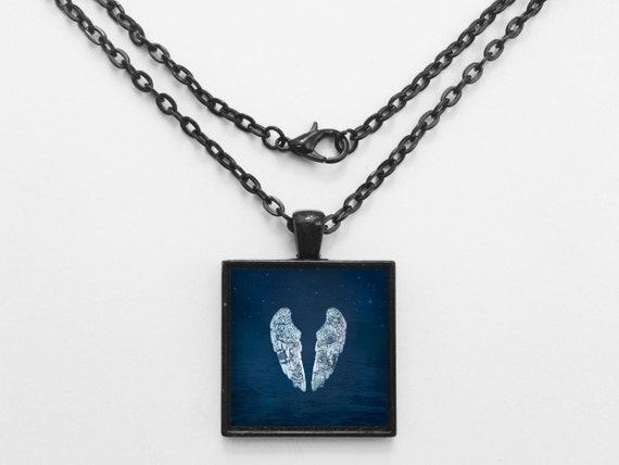 Coldplay - Ghost Stories Album Cover Necklace OR Keychain