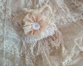 Lace covered lavender sachets