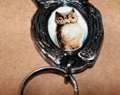 Vintage Owl Art Opener Key-chain