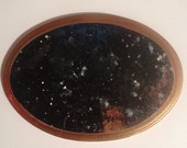 space scape plaque // oval