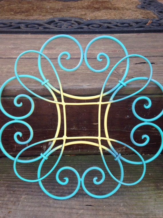 Metal Wall Decor Etsy : Shabby chic wall decor metal by labellascottage