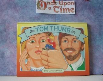 TOM THUMB  Pop-up Book,  1994 Landoll Publishing, Hardcover