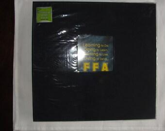 12x12 FFA Learning to do Scrapbook album