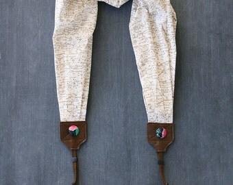 scarf camera strap wanderer - BCSCS051