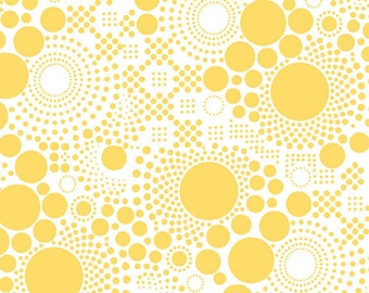 SALE - One Yard - Hipster Pop in Yellow by Riley Blake