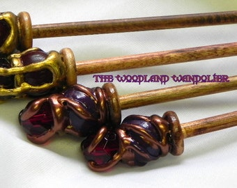 Wooden Magic Knitting Needles