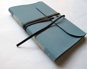 limp cloth travel journal - various colours, longstitch