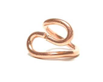 Copper Ring, Women, Men, Teen, Mirror Finished, Size 5.5, Ready To Ship