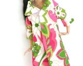 Long Coat Set For 12inch Girl Doll