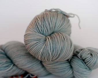 Fingering, Lullaby Green: 80/20 First-String PLUS SW Merino/Nylon, 295