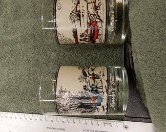 Arby's Currier and Ives glasses from 1981
