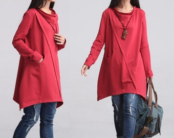 Casual Long Sleeved T-shirt Blouse Tops for Autumn and Spring -  Women Clothing LYQ - 023