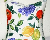 Susan Sargent 18 x 18 inch Decorative Accent Toss Pillow Cushion Cover