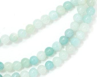 Amazonite Beads - 3mm Round