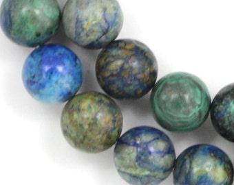 Chrysocolla Beads - 12mm Round