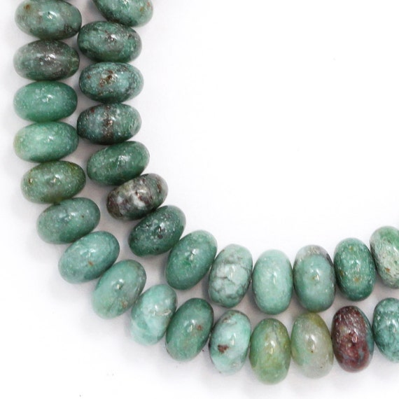 "African ""Jade"" Beads - 6mm Rondelle - Limited Quantity"