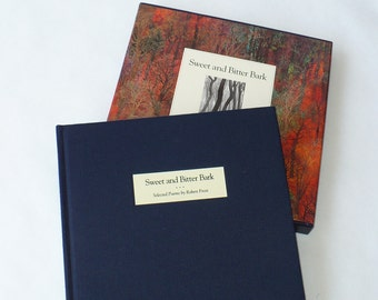 Robert Frost Poems, Sweet and Bitter Bark, Books Movies Music, Poetry Books Poems, Book sets & Collections