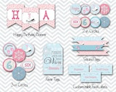Ice Skate Printable Party by Beth Kruse Custom Creations - personalized party