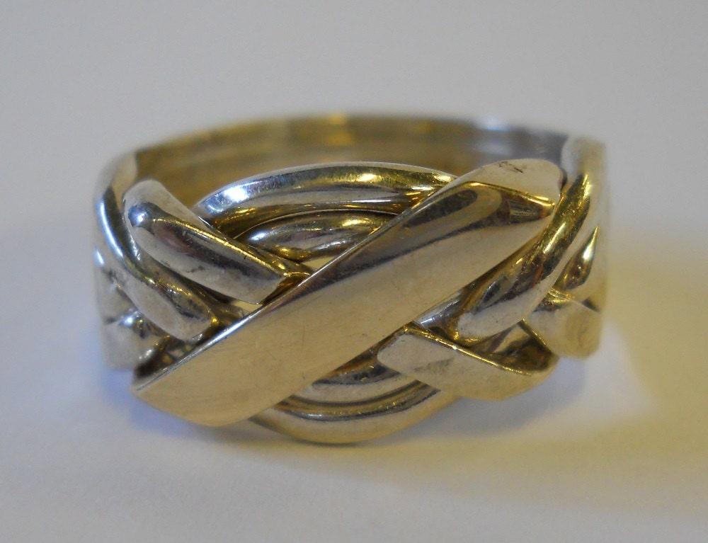 Arabic Puzzle Ring