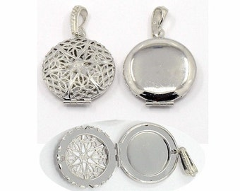 4doz essential oil diffuser lockets wholesale lockets for perfume pendants aromatherapy locket Scent Locket bulk craft lockets  27mm 750x