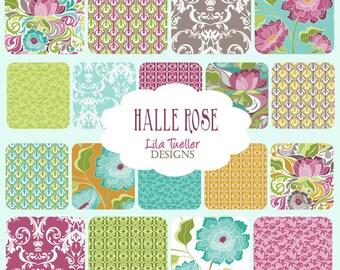 "Halle Rose - 5"" Stacker - For Riley Blake designed by Lila Tueller  - 5-4180-18"