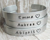 SET of 5 Bracelet Personalized Hand Stamped Jewelry Cuff Bracelets I Couldn't Say I Do Without You Wedding Party Bachelorette SHOWER Gift