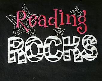 Reading Rocks Teacher shirt