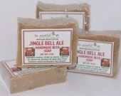 Jingle Bell Ale Beer Soap