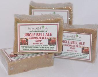 Jingle Bell Ale Beer Soap