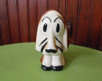 Vintage Mid Century Rio Hondo Pottery Style Sad Puppy Figure