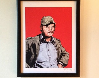 QUINT JAWS limited edition PRINT