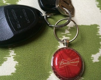 Budweiser upcycled keychains more designs