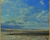 Brancaster Beach Norfolk Original Painting