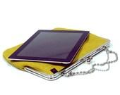 Ipad case - Lemon Green - Duchess Case for iPad