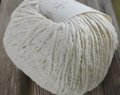 WORSTED or ARAN Weight Yarn - Cotton with Silk Wrap - Color #938 - Rowan Savannah - 50g - 87 yards