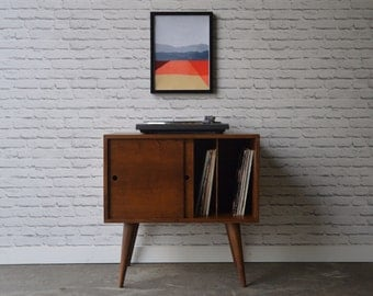 Eiden Record Storage Cabinet - Mid Century Modern Inspired - IN STOCK!!!