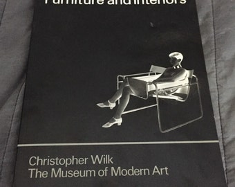 Book Marcel Breuer Furniture & Interiors by Christopher Wilk MoMA