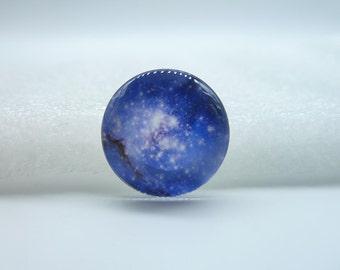 4pcs 20mm Handmade Photo Glass Cabochons  (Cosmic Star Universe )   GE3-23