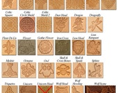 Decorative Stamp added to Earthly Leather Design Belts, Skirt Hikes, Mug Straps, Wand Holsters, etc.