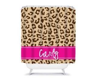 Personalized Shower Curtain - Monogram Shower Curtain -  Design your Own- Many Colors to Choose From